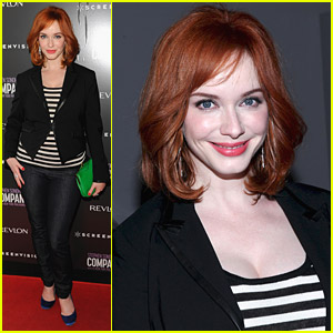Christina Hendricks: 'Company' With The NY Philharmonic