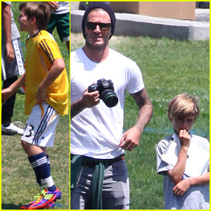 David Beckham: Soccer Dad Extraordinaire!