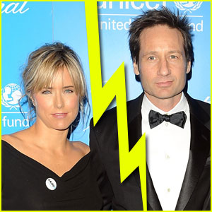 David Duchovny & Tea Leoni Split Again