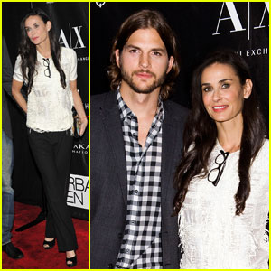 Demi Moore: Apple Awards with Ashton Kutcher!