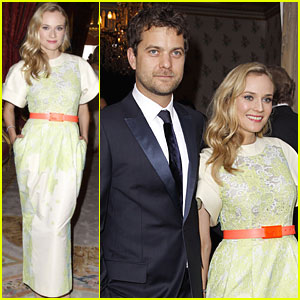 Diane Kruger & Joshua Jackson: Liaisons au Louvre!