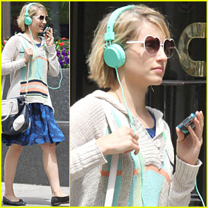 Dianna Agron: Heart Shaped Glasses!