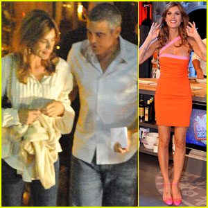 George Clooney &#038; Elisabetta Canalis: Como Couple!