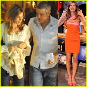 George Clooney & Elisabetta Canalis: Como Couple!