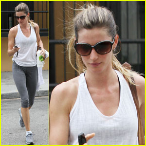 Gisele Bundchen: Win A Signed Water Bottle!