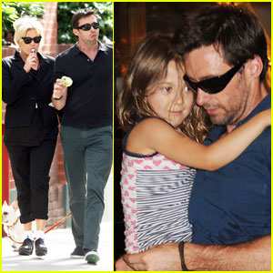 Hugh Jackman & Deborra-Lee Furness: West Village Walk