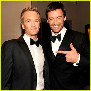 Hugh Jackman & Neil Patrick Harris: Tonys Host-Off!