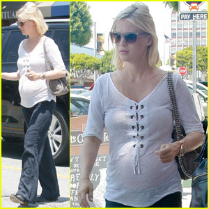January Jones: Blue Onesies at Target!