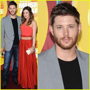 Jensen Ackles: CMT Music Awards with Danneel Harris!
