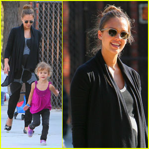 Jessica Alba Naming Second Daughter Eva?