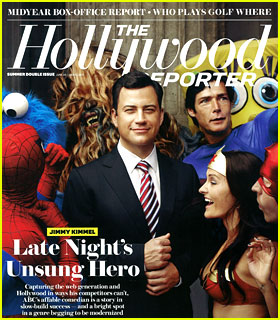 Jimmy Kimmel Covers 'THR' Summer Double Issue