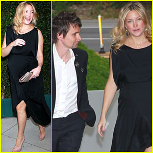 Kate Hudson: Benefit Dinner with Matthew Bellamy