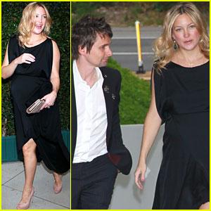 Kate Hudson: Benefit Dinner with Matthew Bellamy