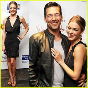 LeAnn Rimes Brings Eddie Cibrian On Stage!