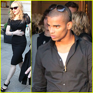 Madonna & Brahim Zaibat: Details on Paris Trip!