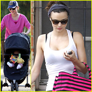 Miranda Kerr: Post Baby Body Secret Revealed!