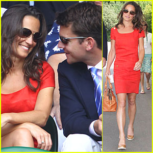 Pippa Middleton: Wimbledon with Alex Loudon!