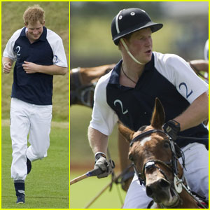 Prince Harry: Bernhard Weatherill Charity Polo Match!
