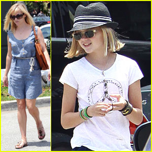 Reese Witherspoon & Ava: Out to Lunch!