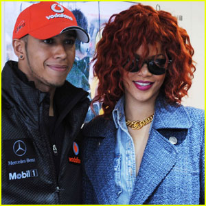 Rihanna: Canadian Grand Prix with Lewis Hamilton!