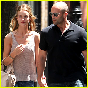 Rosie Huntington-Whiteley & Jason Statham: Manhattan Mates!