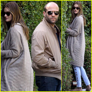 Rosie Huntington-Whiteley & Jason Statham: Peek-A-Boo House