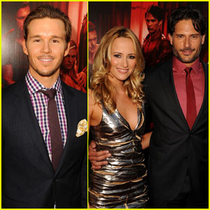 Ryan Kwanten & Joe Manganiello: 'True Blood' Premiere!