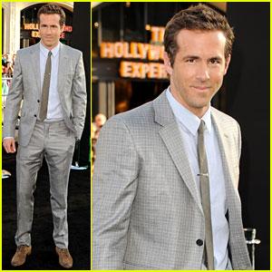 Ryan Reynolds: 'Green Lantern' Premiere!