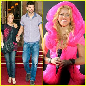 Shakira & Gerard Pique: Parisian Pair!