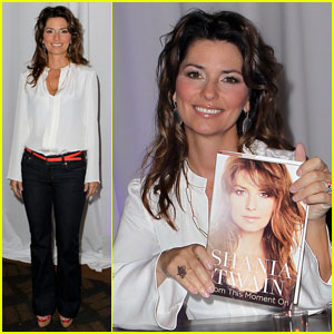 Shania Twain: Brunch & Book Signing with Oprah Audience!