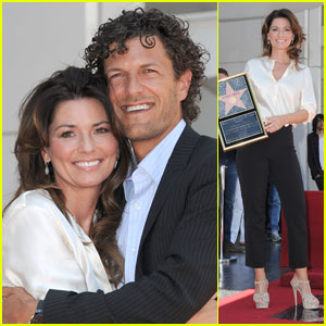 Shania Twain: Walk of Fame Star Ceremony!