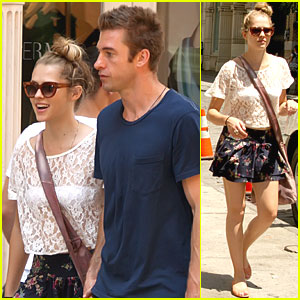 Teresa Palmer & Scott Speedman: Soho Sweethearts