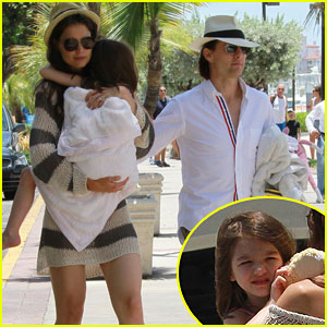 Tom Cruise &#038; Katie Holmes: Miami with Suri!