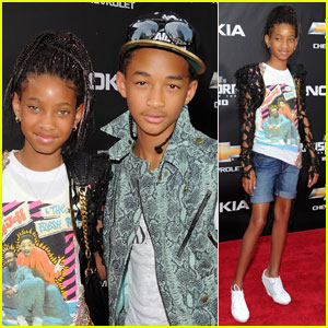 Willow Smith: 'Transformers' Premiere with Jaden!
