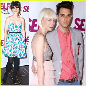 Gabe Saporta & Zooey Deschanel: 'Self' Magazine Celebration!