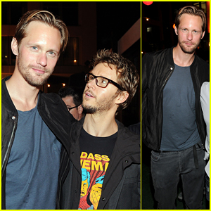 Alexander Skarsgard: Summit Comic-Con Party with Ryan Kwanten!