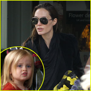 Angelina Jolie & Vivienne: Flower Girls!