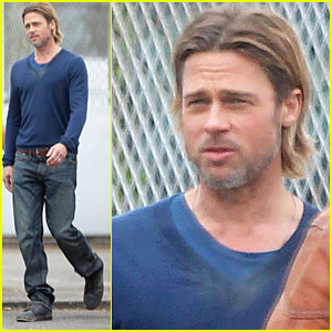 Brad Pitt: Back to Work on 'World War Z'!