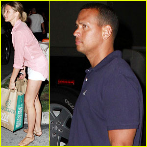 Cameron Diaz & Alex Rodriguez: Nighttime Whole Foods Run!