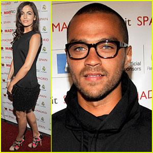 Camilla Belle & Jesse Williams: Real Madrid Meet & Greet!