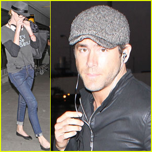 Charlize Theron & Ryan Reynolds: LAX Landing