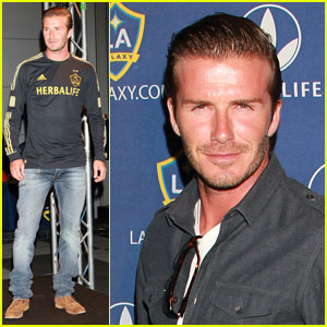 David Beckham: Galaxy Fourth of July Party!