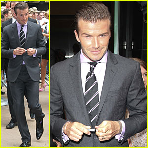 David Beckham: Good Morning America!