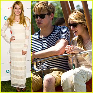 Emma Roberts & Chord Overstreet: Super Saturday 14!