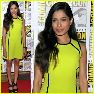 Freida Pinto: Comic-Con 2011 Press Line