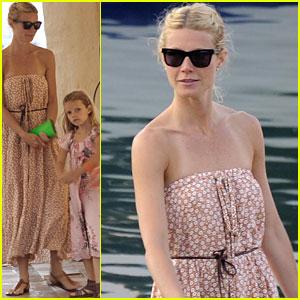 Gwyneth Paltrow: Italian Getaway with Apple and Moses!