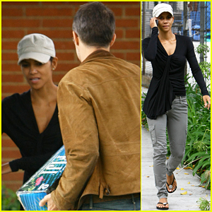 Halle Berry & Olivier Martinez: Picnic Lovers!