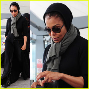 Janet Jackson Gets 'Up Close & Personal' in London