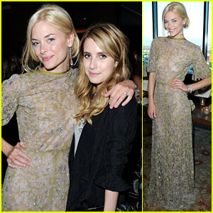 Jaime King & Emma Roberts: Saint Vintage Designs Launch!