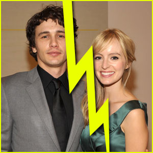 James Franco &#038; Ahna O'Reilly Split